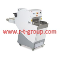 Equipment for slicing and packaging of bread