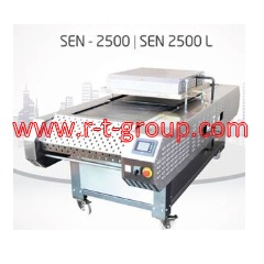 Tunnel ovens for small piece confectionery products