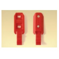 Clip for plastic forms