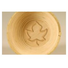 Round form for proofing Maple leaf 190 mm (withe)