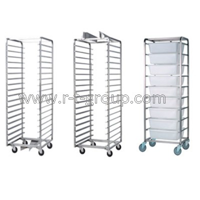 Trolleys for bakery on wheels