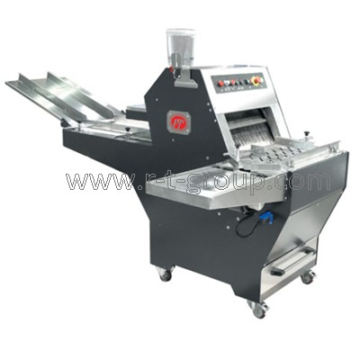Equipment for bread slicing and packaging