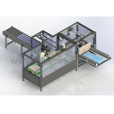 Carton box packaging machine HandyPack