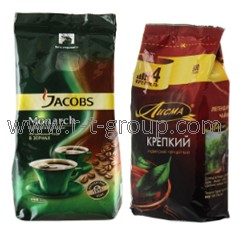 Packaging of tea and coffee