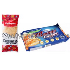 Packing of piece frozen products