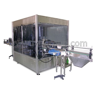 Labeling machine TL for 24000 labels / hour with cold glue