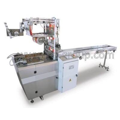 Packaging machine for envelope type packaging